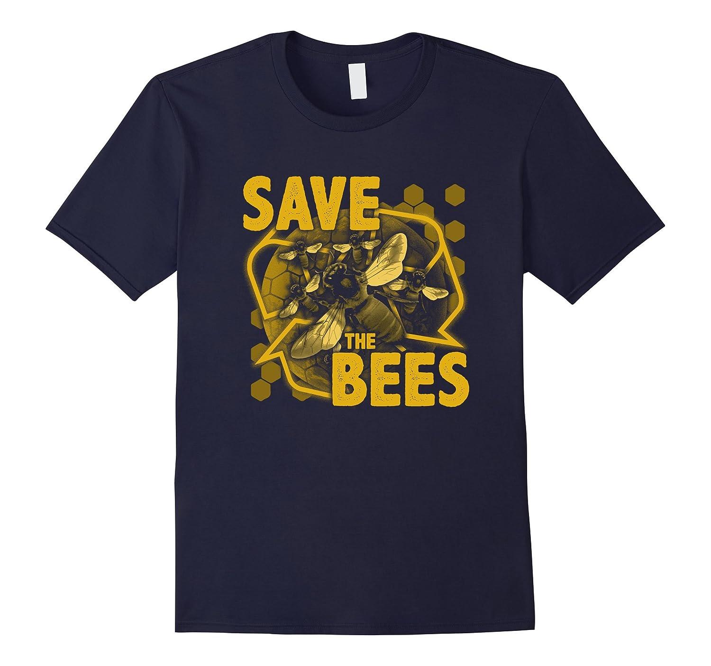 Save The Bees T Shirt Environment Protection Rt Rateeshirt