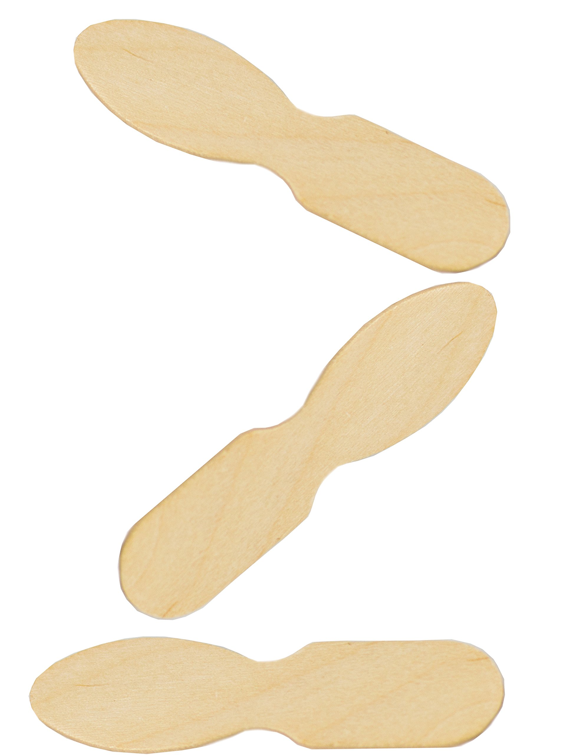 Perfect Stix ASO24W-UN-2000 3'' Unwrapped Taster Spoons, 0.1'' Height, 0.5'' Width, 3'' Length (Pack of 2000) by Perfect Stix