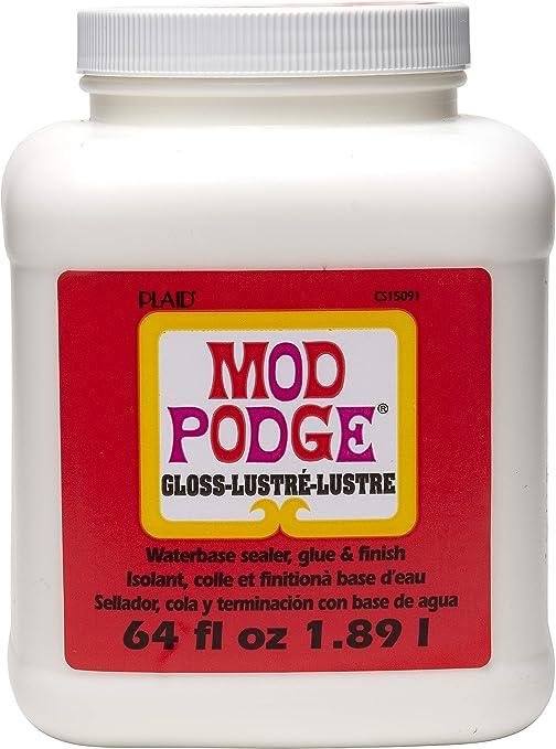 ~Plaid MoD PoDgE Gloss Lustre Sealer 8 OuNcE ~ REBORN DOLL SUPPLIES