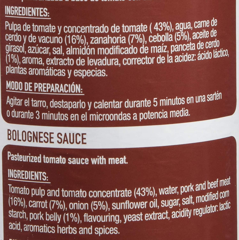 Gallo Salsa Boloñesa - 400 gr