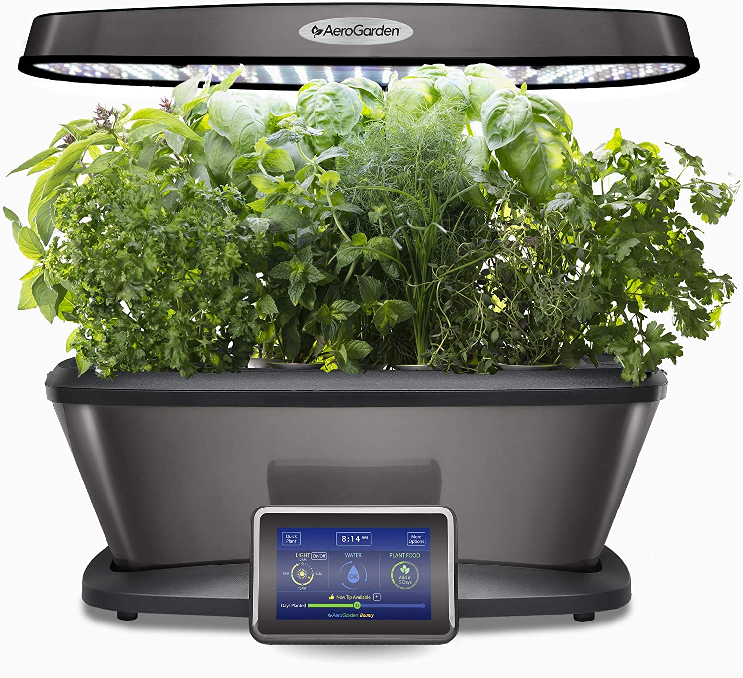 AeroGarden 903121-1200 Platinum Bounty Elite
