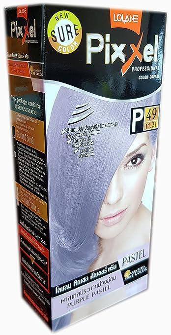 Tinte de color crema para cabello de PASTEL PERMANENTE para ...