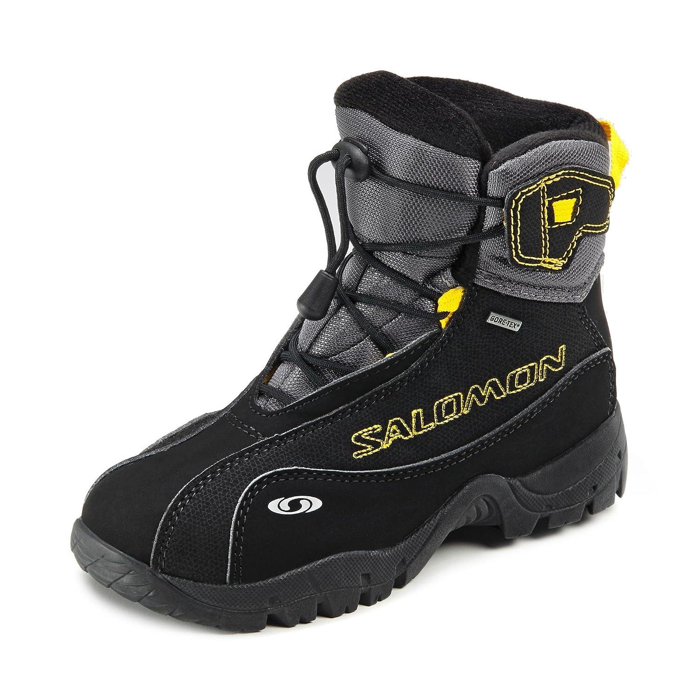 Salomon B4 Graphic GTX Schuhe Outdoorschuhe Trail Trekking Schwarz
