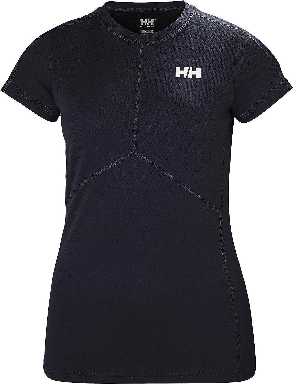 Helly-Hansen Womens LIFA Active Light Sun Protection Shortsleeve Baselayer Top