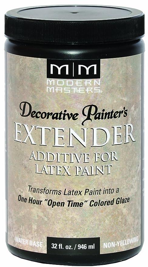 Vinegar in latex paing