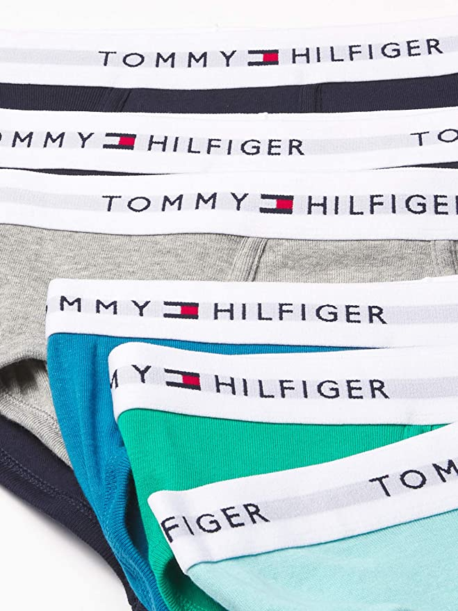 5 PACK TOMMY HILFIGER LIMITED EDITION BRIEFS CLASSIC FIT VAR COLORS XL 40-42