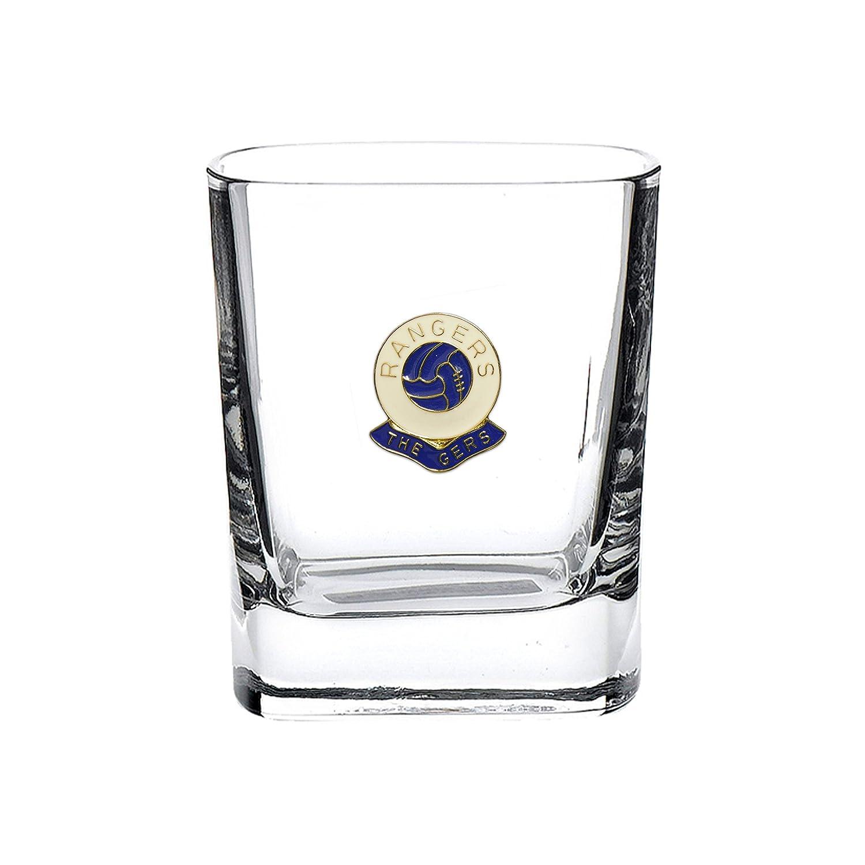 Glasgow Rangers football club mixer glass Knight