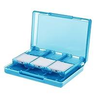 AmazonBasics - Nintendo 3DS Aufbewahrungsetui für Spielkassetten mit 24 Steckplätzen -Blau