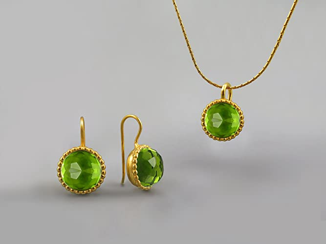 stm item perjlry stone earrings jewelry peridot