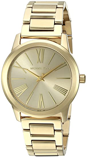 5a26a95104a Michael Kors Women s Analogue Quartz Watch with Stainless Steel Strap  MK3490  Amazon.co.uk  Watches