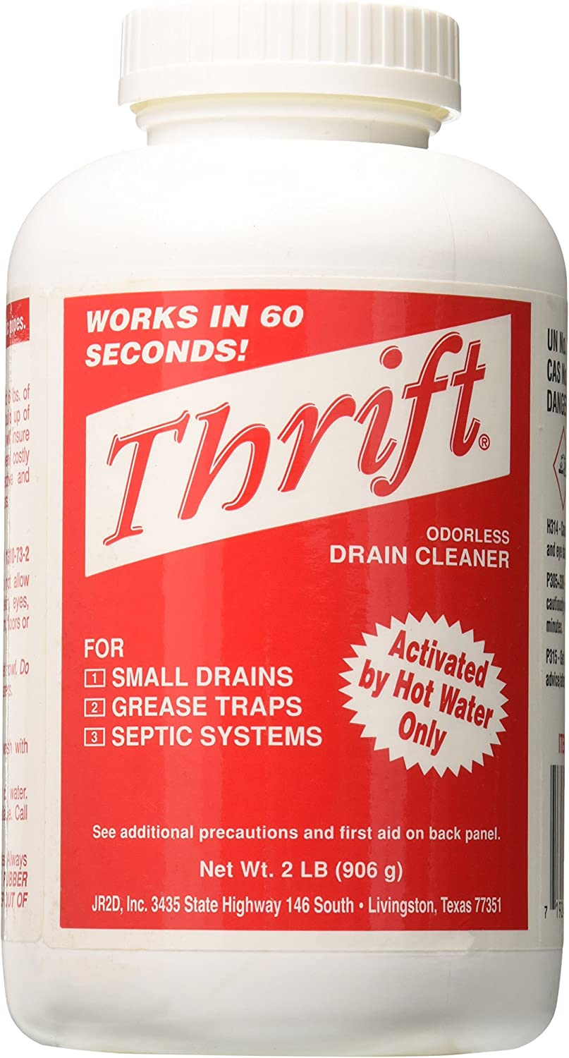 Thrift Marketing GIDDS-TY-0400879 Drain Cleaner 2 lb: Home & Kitchen