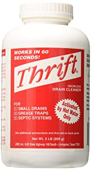 Thrift 2lb Drain Cleaner