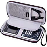 LTGEM EVA Hard Case for Texas Instruments TI-Nspire CX Graphing Calculator - Travel Protective Carrying Storage Bag