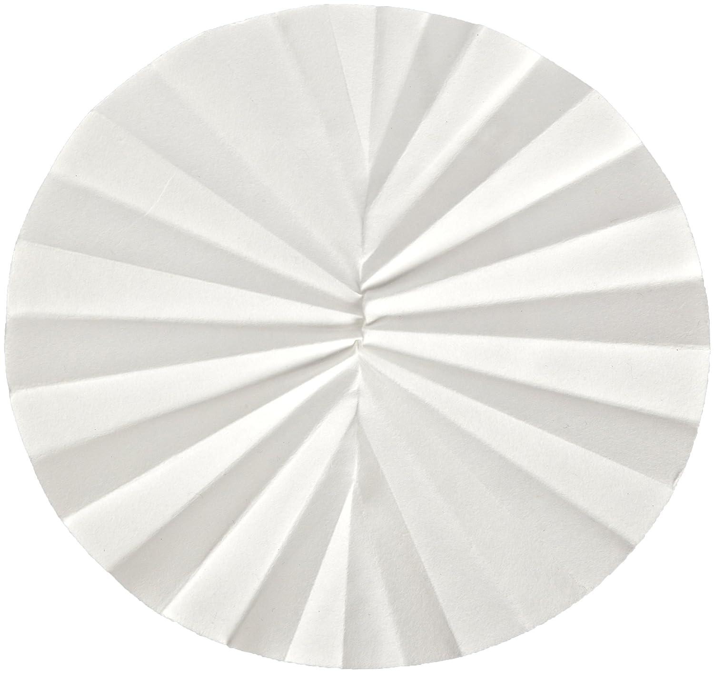 4-7 Micron 90mm Diameter Grade 591-1//2 Pack of 100 Whatman 10311642 Quantitative Folded Filter Paper