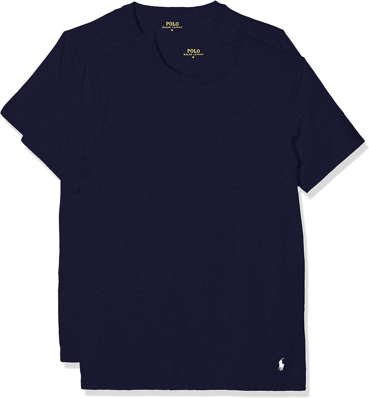 Ralph Lauren Classic Camiseta (Pack de 2) para Hombre: Amazon.es ...