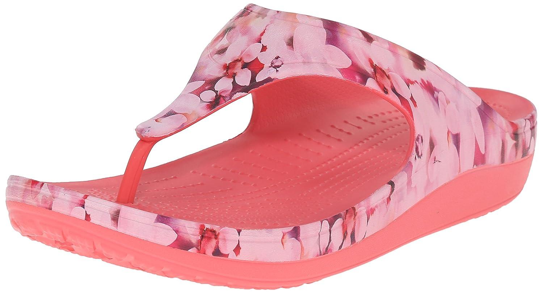 f921ce688421 Crocs womens sloane soft floral flip flop flip flops jpg 1500x808 Cute croc  flip fops