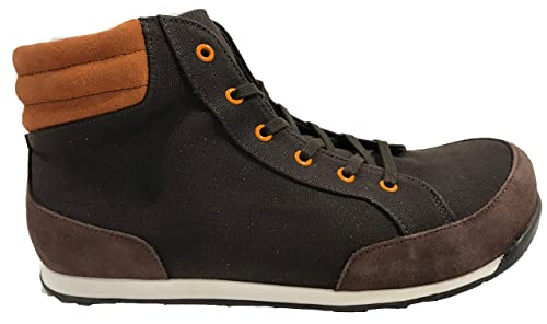 88f8473f9e2d5f Birkenstock Boot   Rügen   from Leather Textile in Coffee Braun Orange   Amazon.co.uk  Shoes   Bags