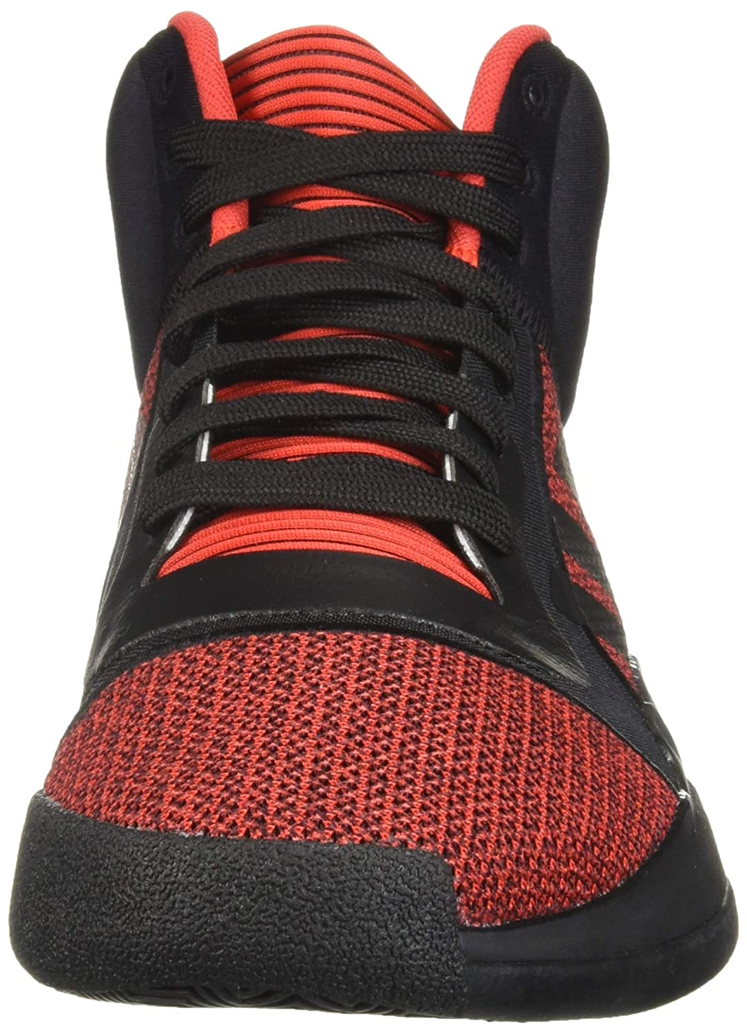 adidas Men s Marquee Boost Low, Active red Black aero Blue, 10 M US