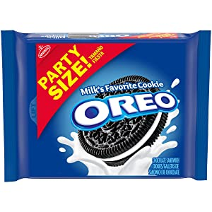 OREO Chocolate Sandwich Cookies, Party Size, 25.5 oz