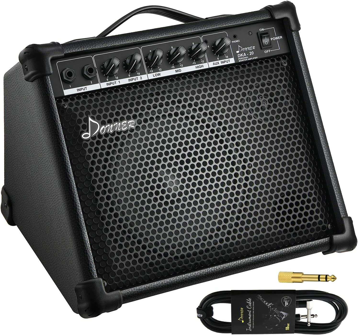 Donner DKA-20 AMP 20-Watt Keyboard Amplifier