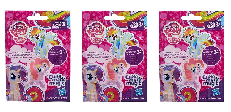 Hasbro Pack of 3 My Little Pony Wave 12 Cutie Mark Magic Blind Bag Figure