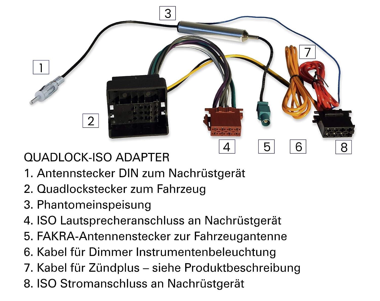 Astra H Signum Opel barra de desbloqueo para Antara marco adaptador de antena Vivaro adaptador de radio Corsa D Tigra Zafira B Set de instalaci/ón con embellecedor de radio profesional de 2 DIN Vectra C