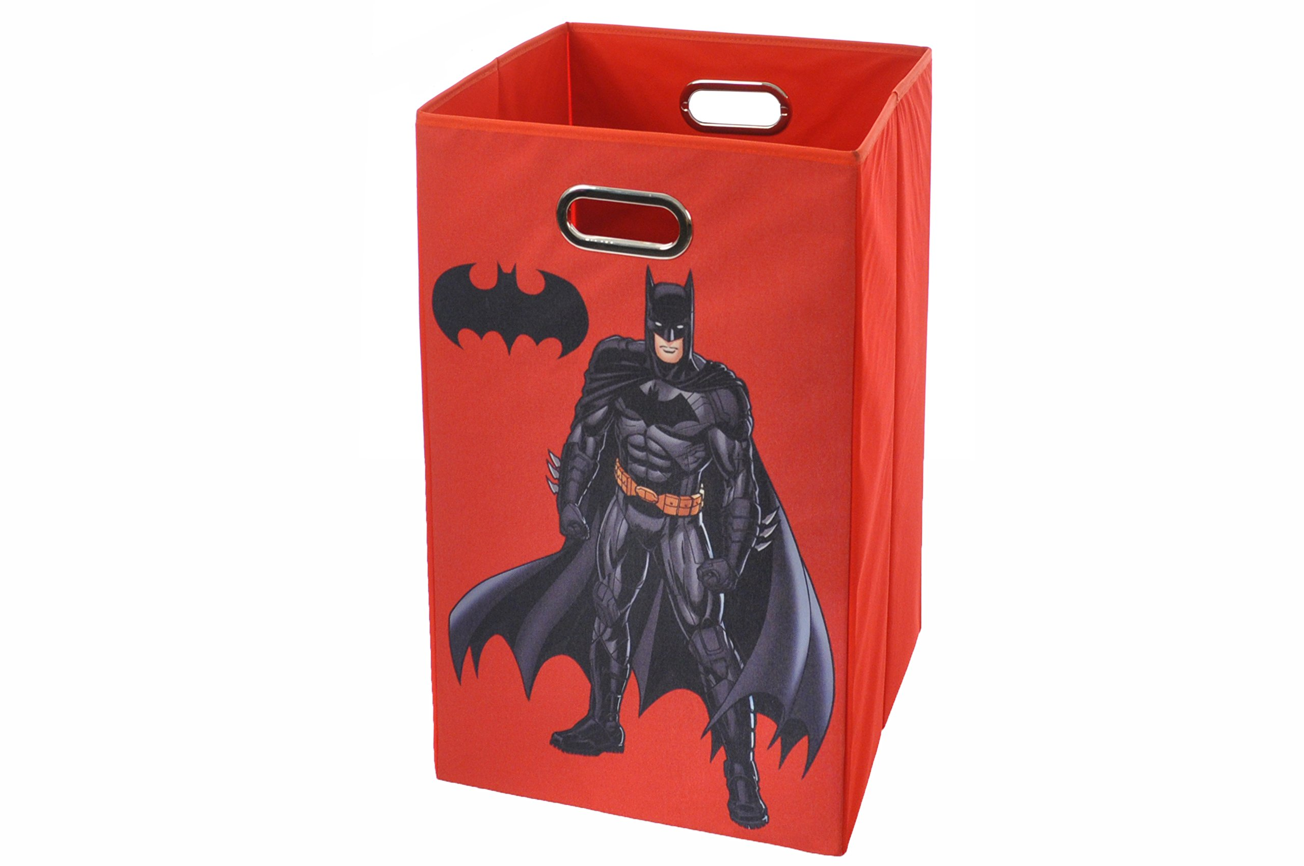 Batman Folding Laundry Basket, Red