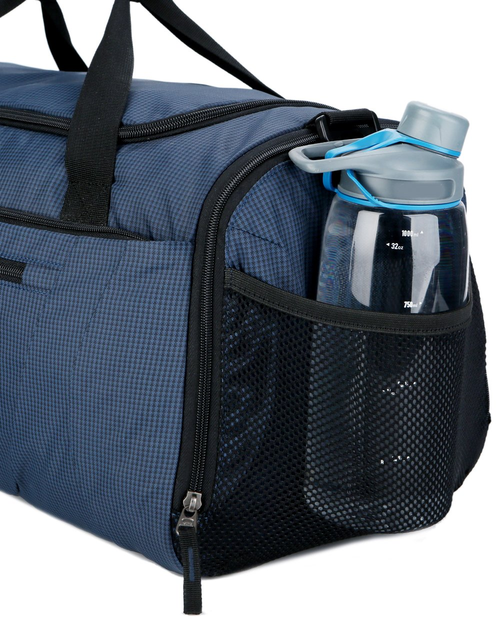 4c690b44c9b Mouteenoo Gym Bag 40L Sports Travel Duffel Bag for Men and Women with Shoes  Compartment Blue larger image