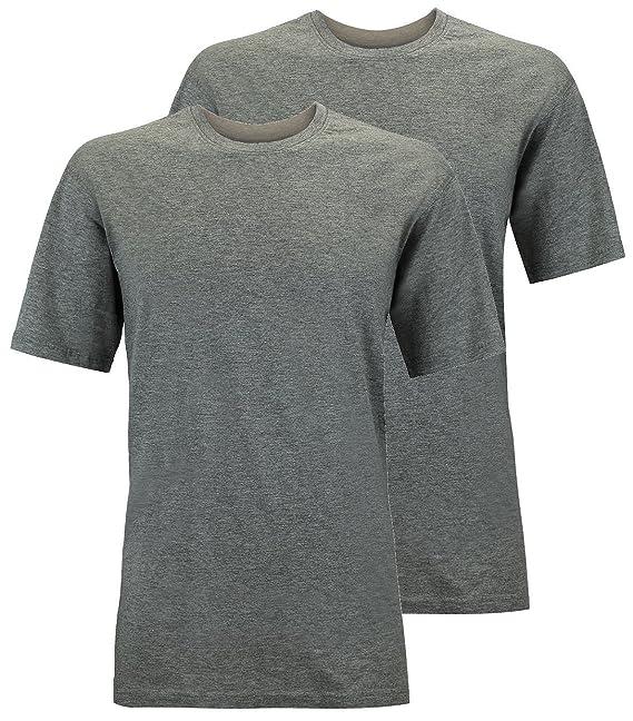 Redfield Camisetas Doppelpack Oversize Antracita Mélange: Amazon.es: Ropa y accesorios