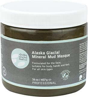 product image for Alaska Glacial Facial Purifying Mineral Mud Anti-Aging Mask with Pure Organic Nutrient Rich Glacial Clay For All Skin Types - Original Unscented - 16 oz