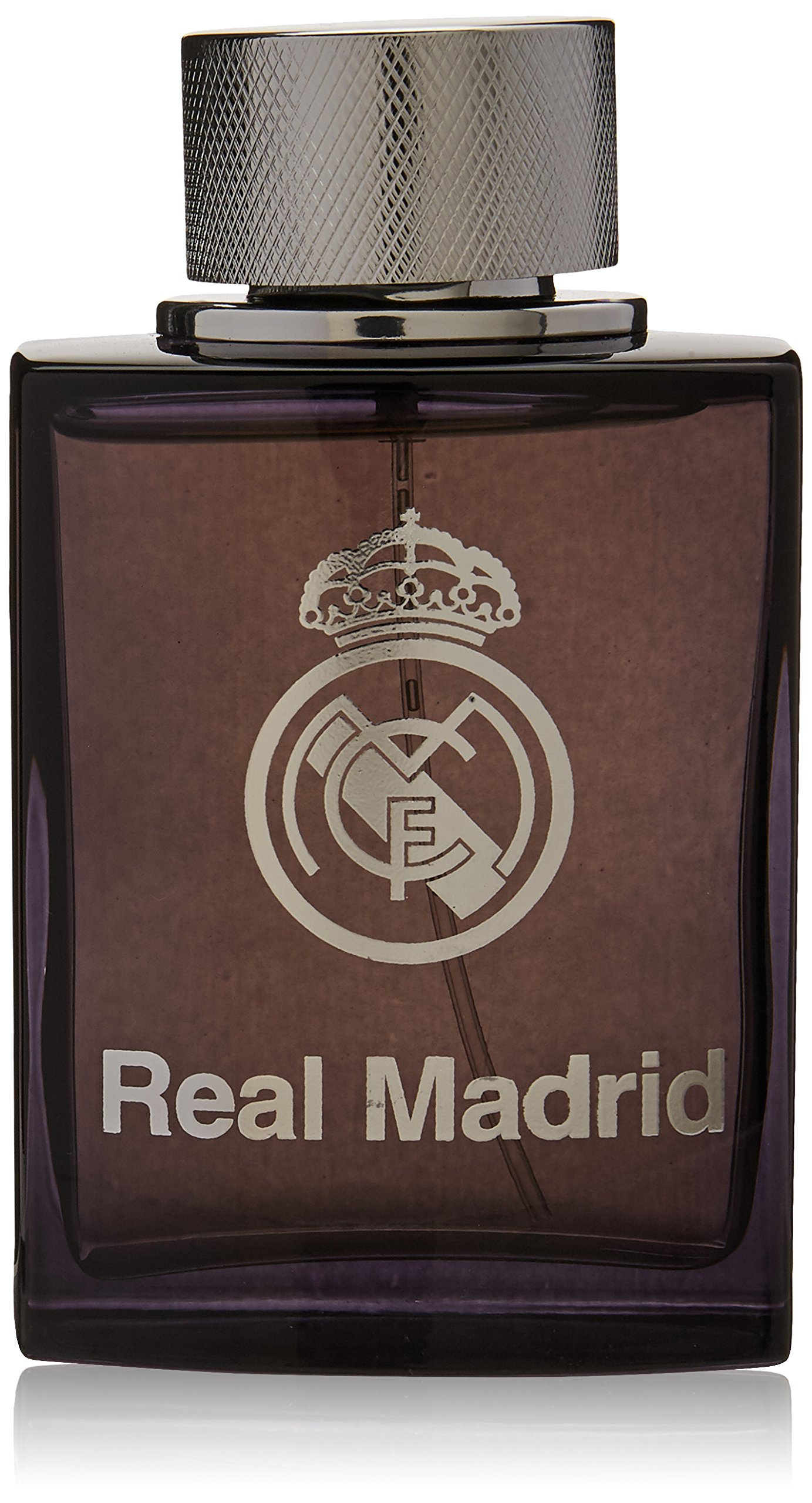 Real Madrid Black EDT Spray for Men, 3.4 Ounce