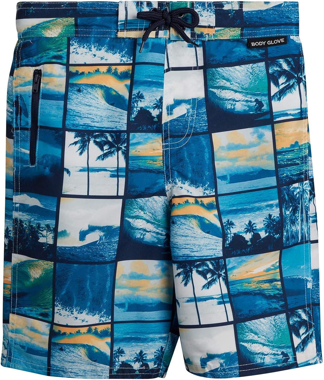 Amazon.com: Body Glove Boys Quick-Dry Swimming Board Shorts, Blue Beach,  Size 18: Clothing