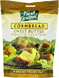 Fresh Gourmet Premium Croutons, Sweet Butter Cornbread, 5 Ounce (Pack of 6)