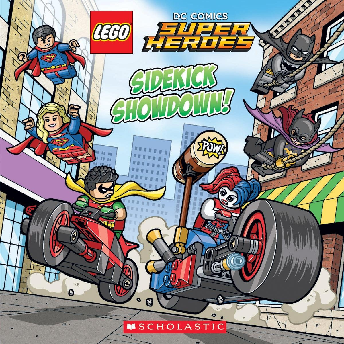 Sidekick Showdown Comics Super Heroes