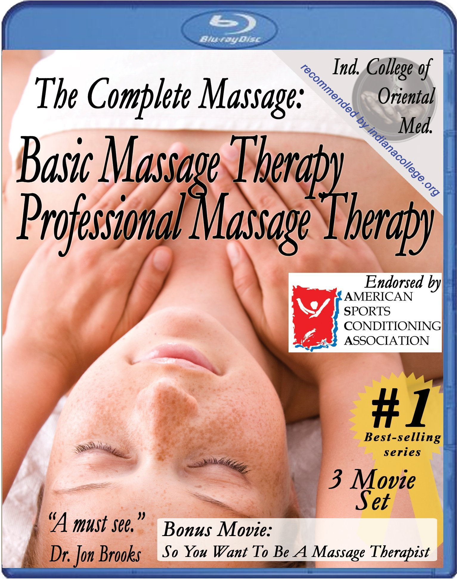 The Complete Massage Pack: Basic & Professional Massage Therapy plus free bonus movie So, You Want To Be A Massage Therapist (3 movie combo pack) [Blu-ray]