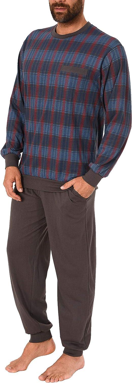 auch in /Übergr/össen Karooptik 281 101 90 482 NORMANN W/ÄSCHEFABRIK Herren Pyjama lang mit B/ündchen
