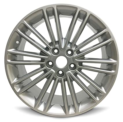 2014 Ford Fusion Tires >> Road Ready Car Wheel For 2013 2016 Ford Fusion 18 Inch 5 Lug Gray Alloy Rim Fits R18 Tire Exact Oem Replacement Full Size Spare