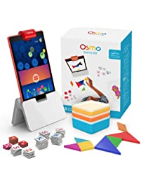 Osmo - Genius Kit for Fire Tablet - 5 Hands-On Learning Games - Ages 6-10 - Problem Solving & Creativity - STEM -