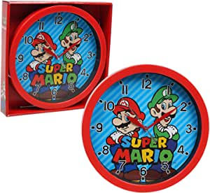 """Accutime Watch Corp Super Mario Frame Wall Clock Nice for Gift or Office Home Wall Decor 9.5"""""""