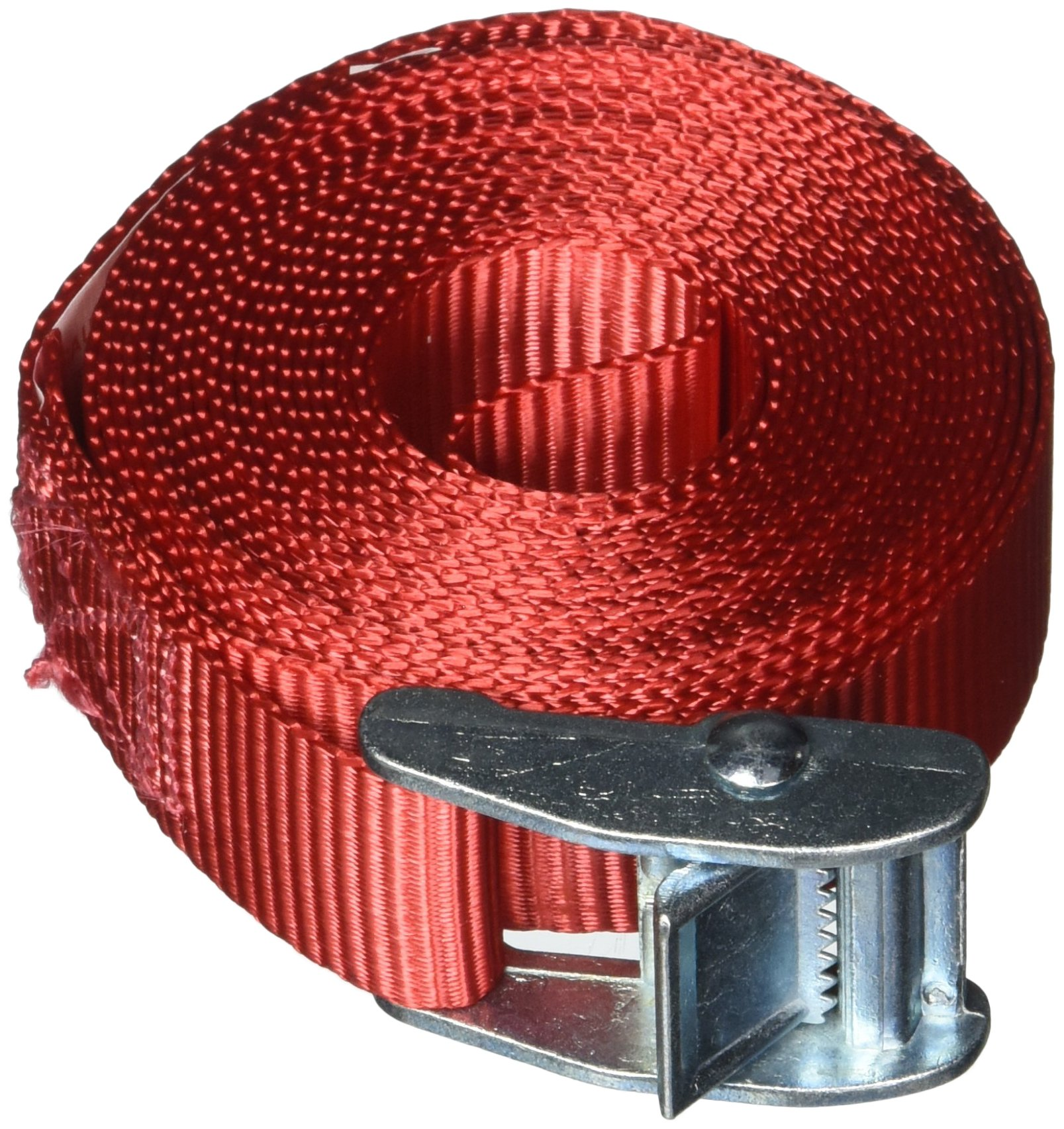 SecureLine 6262 12-Foot Lashing Strap, Red