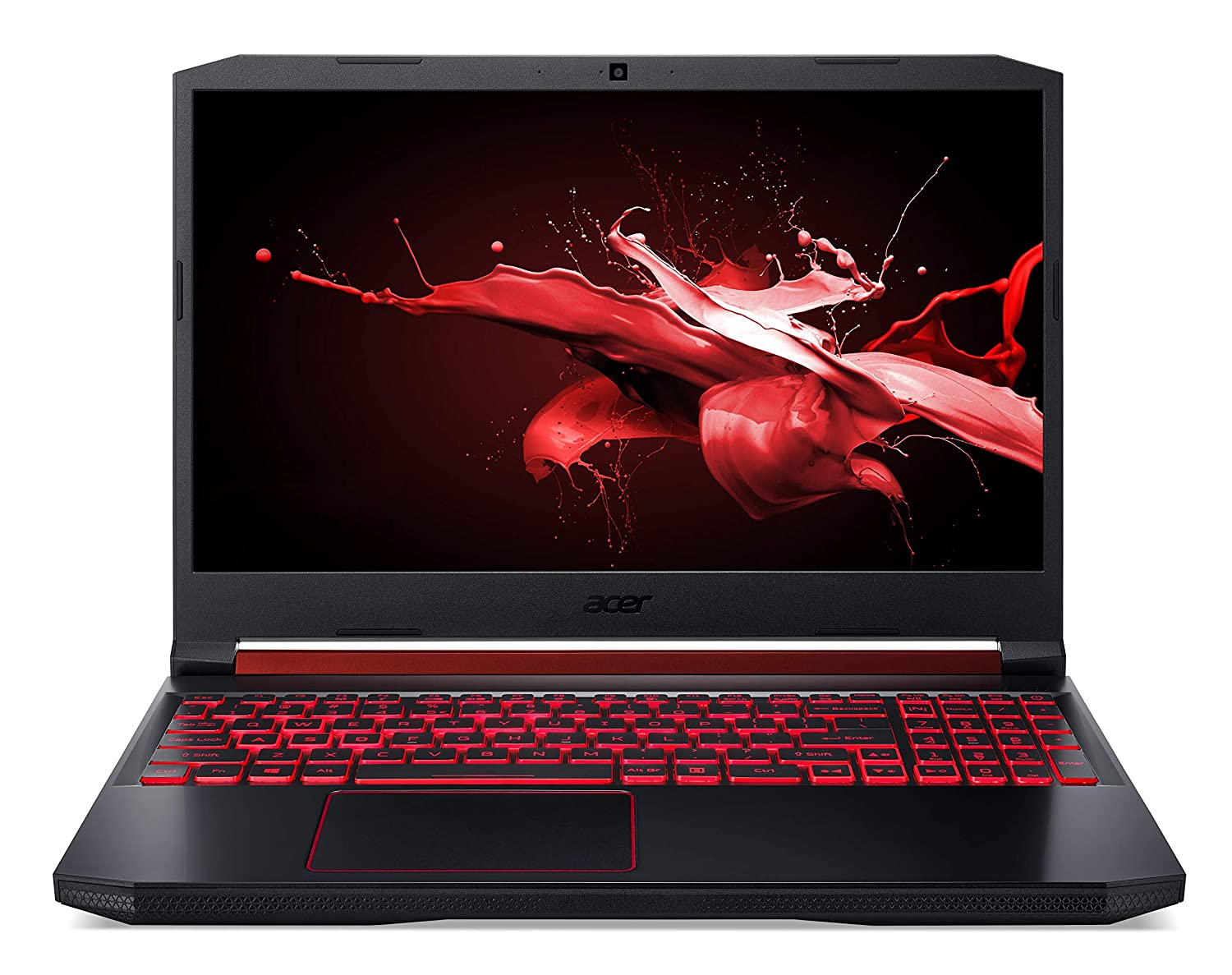 Acer Nitro 5 Intel Core i5-9th Gen 15.6-inch Display 1920 x 1080 Thin and Light Gaming Laptop (8GB Ram/1TB HDD/Windows 10 Home/GTX 1650 Graphics/Obsidian Black/2.3 Kgs), AN515-54