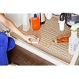 Xtreme Mats Under Sink Kitchen Cabinet Mat, 33 5/8 x 21 7/8, Beige