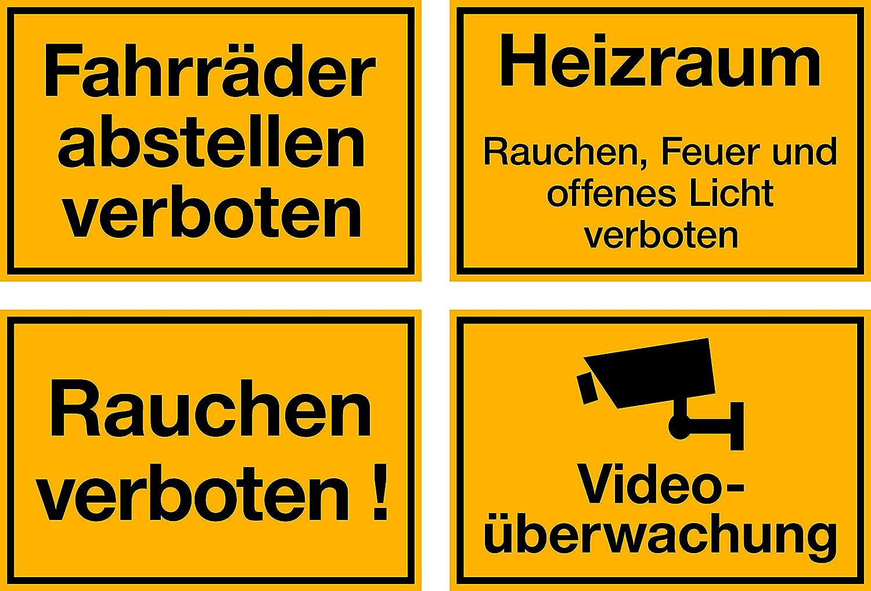 ! Ausfahrt Tag und Nacht freihalten selbstklebendes Schild 1,5mm dick 400 x 300 mm