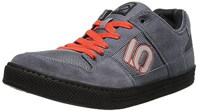 e9ac311ebaf Five Ten Men's Freerider Cycling Shoe, Dark Grey/Orange, ...