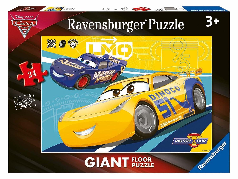 Ravensburger- Puzzle Suelo Giant 24 Piezas, Cars 3 (5518): Amazon ...