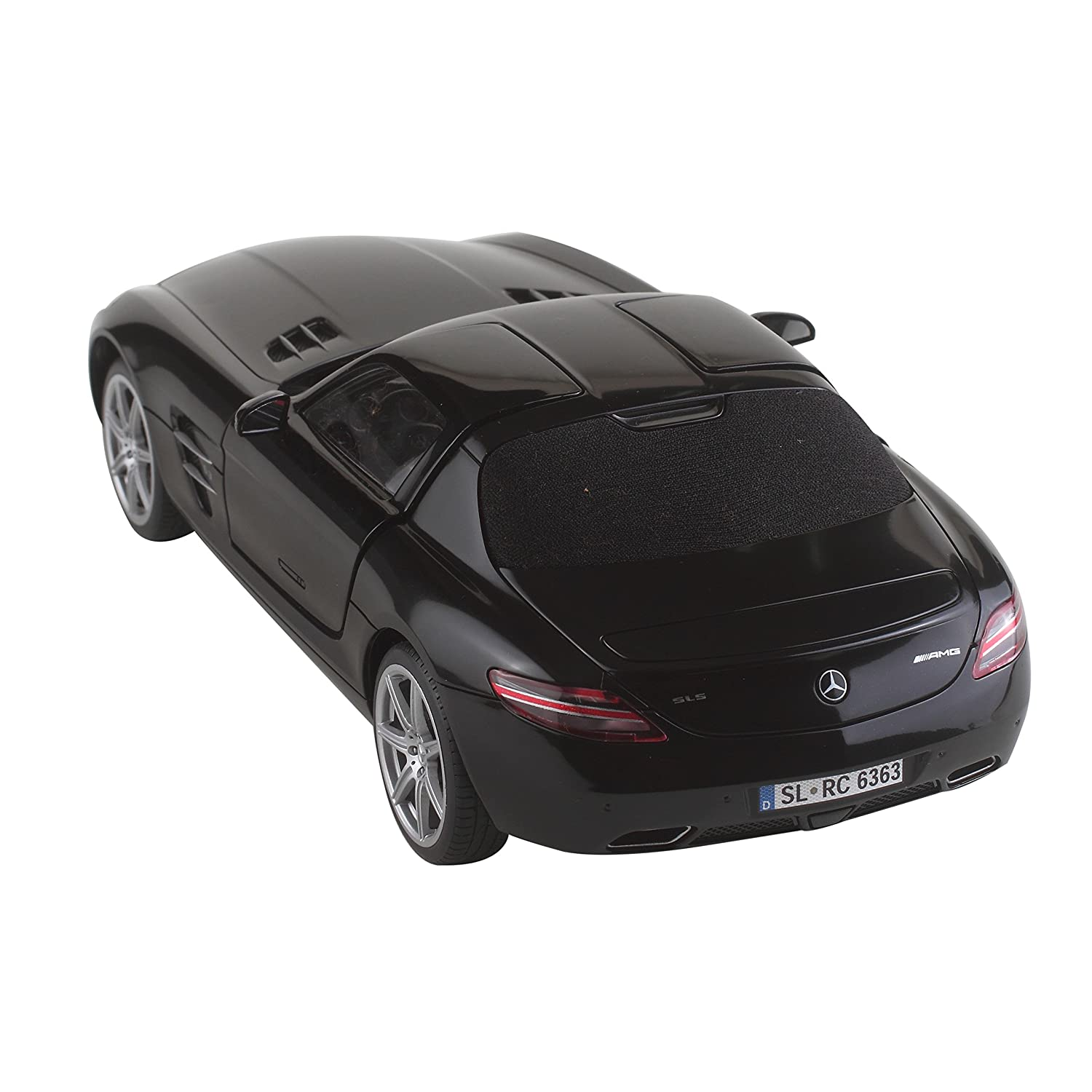 Buy Silverlit 1:16 Mercedes Benz SLS AMG Car ( Black ) With Interactive  Bluetooth R/c  Connect, Control, U0026 Drive Like Never Before Online At Low  Prices In ...