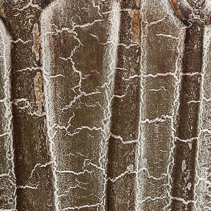 S/2 MACETERO GRIS METAL DECORACIÓN 31 X 31 X 70 CM: Amazon.es: Hogar