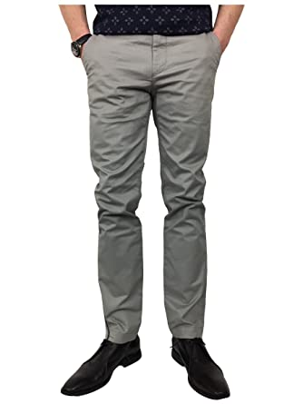 e5a089ba9068 Ted Baker Mens Slim Fit Chino Trousers in Light Grey 36R  Amazon.co.uk   Clothing