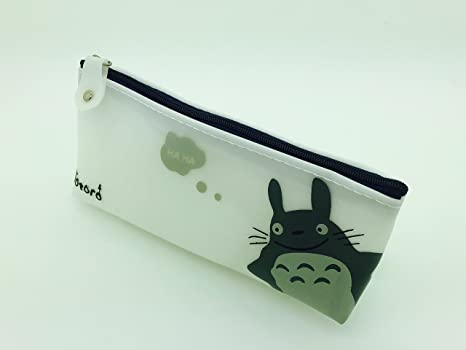 PartyErasers Cute Totoro silicona Pen Pencil Case/Funda ...