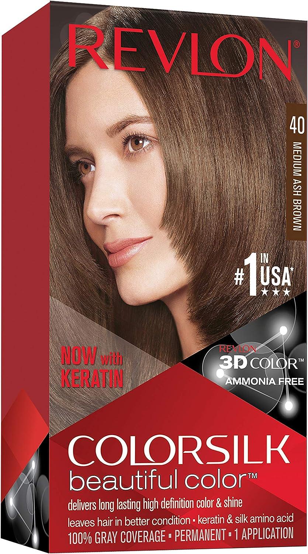 Revlon T/P S/A Colorsilk 51 Castaño Claro, 100 ml: Amazon.es ...